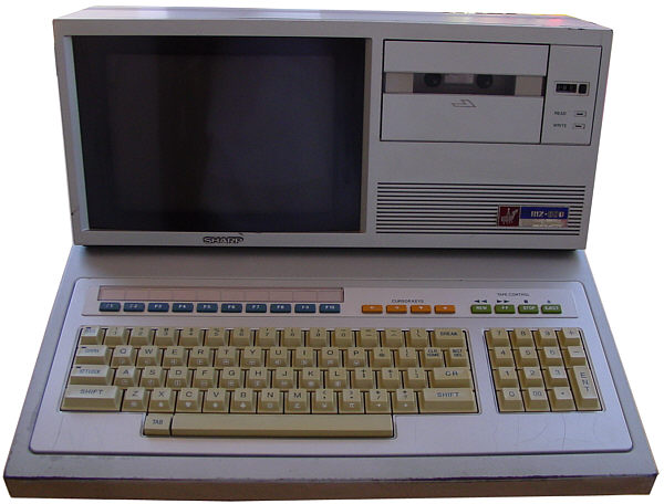 Ordenador Sharp MZ-80B